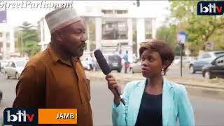 #StreetParliament: Nigerians bare their minds on the Money swallowing snake in JAMB Office