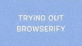 browserify: How to use npm modules in the browser - YouTube