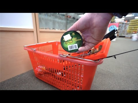 $100 Ice Fishing Challenge (Local Bait Shop)