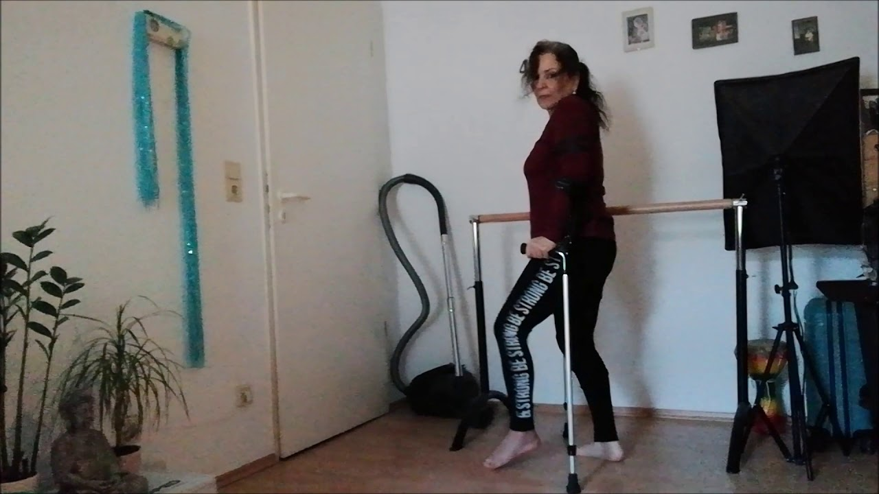 Mit vacoped schuh laufen Tag 5