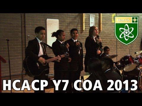 HCACP Y7 COA 2013