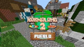 Karmaland 2 Pueblo Mapa Minecraft Descarga