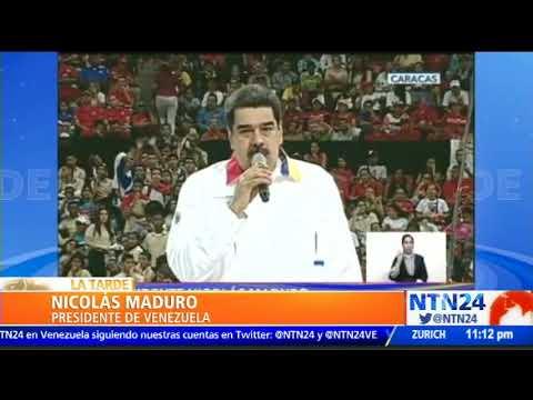 """""""Arrastrado del imperio"""": Maduro a Iván Duque"""