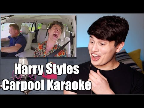 Vocal Coach Reaction To Harry Styles Carpool Karaoke