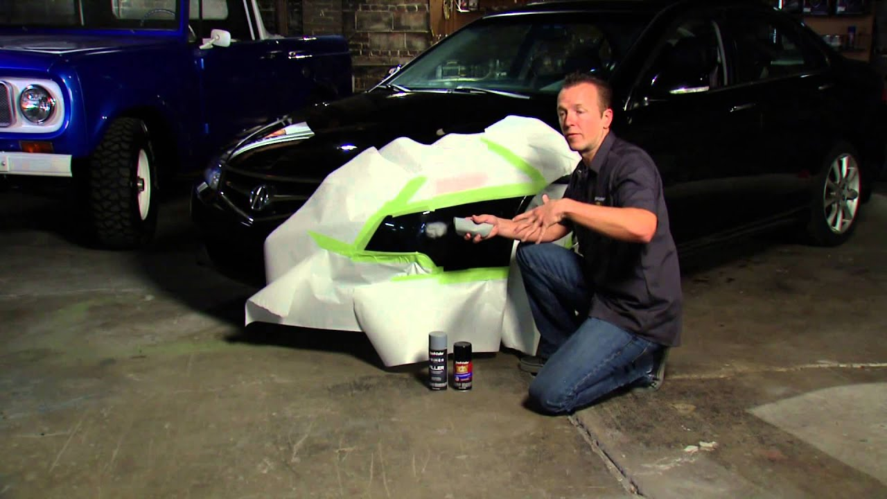 Dupli color perfect match touch up paint youtube for How to do touch up paint on car