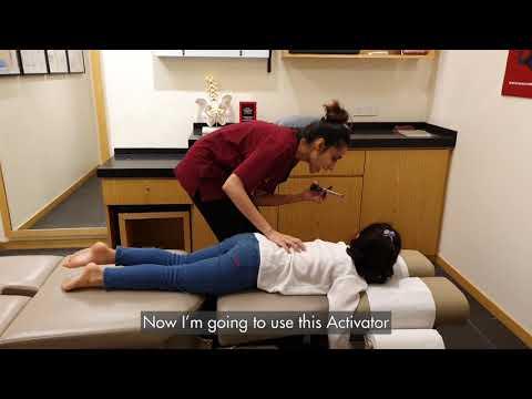 Kid Chiropractic Adjustment