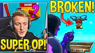 TFUE *REVEALS* his WORLD CUP STRATEGY after finding how *BROKEN* these are! - Fortnite Moments