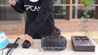 TPCAST Wireless Adaptor for VIVE Installation English