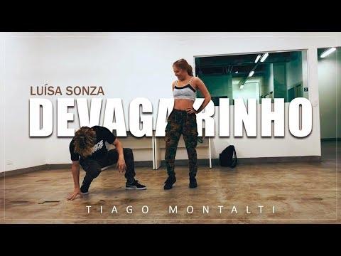 DEVAGARINHO - Luísa Sonza I Coreografia oficial Tiago Montalti