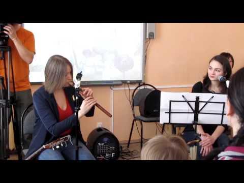 Армянский дудук и стихи Саята-Новы
