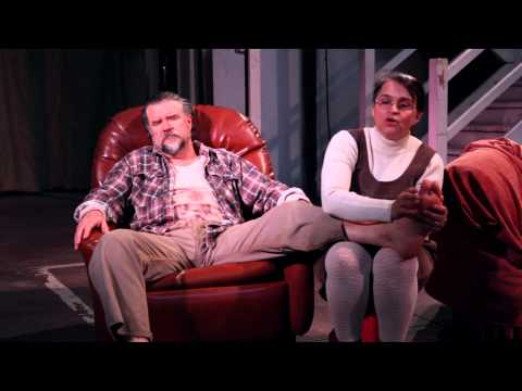 'A Lie of The Mind' Meg & Baylor scene Warehouse Theatre with Kaarin Fairfax - Sep14 HD