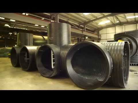Welding Plastic Pipe Structures with Weholite