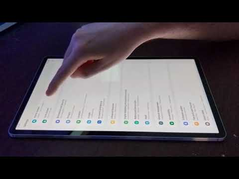 galaxy tab s7+ tapping during scrolling bug