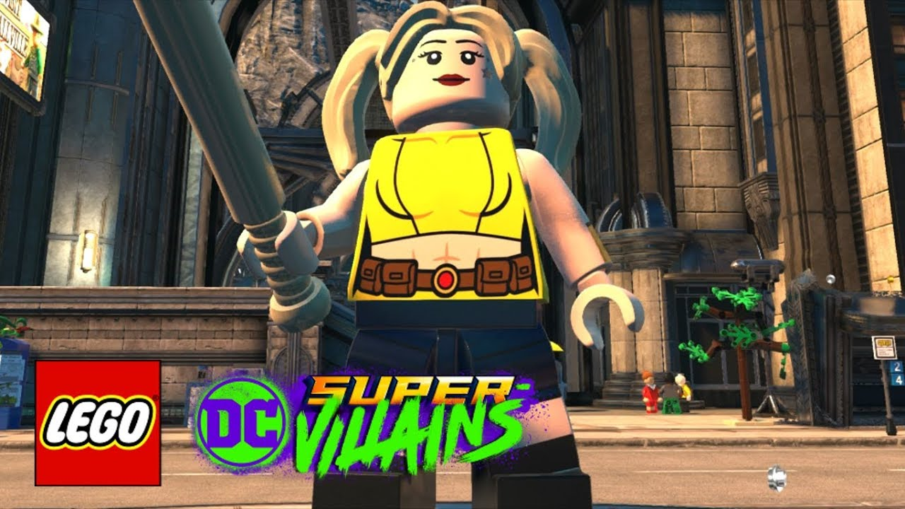 Lego Dc Super Villains How To Make Harley Quinn Margot Robbie Birds Of Prey 2020 Youtube