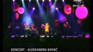 Aleksandra Kovac - Da te volim Live