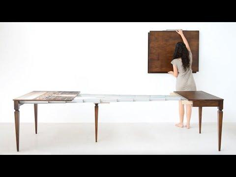 Tavoli A Consolle Allungabili Classici.Tavolo Consolle Allungabile Classica Lg Lesmo 2012 Youtube