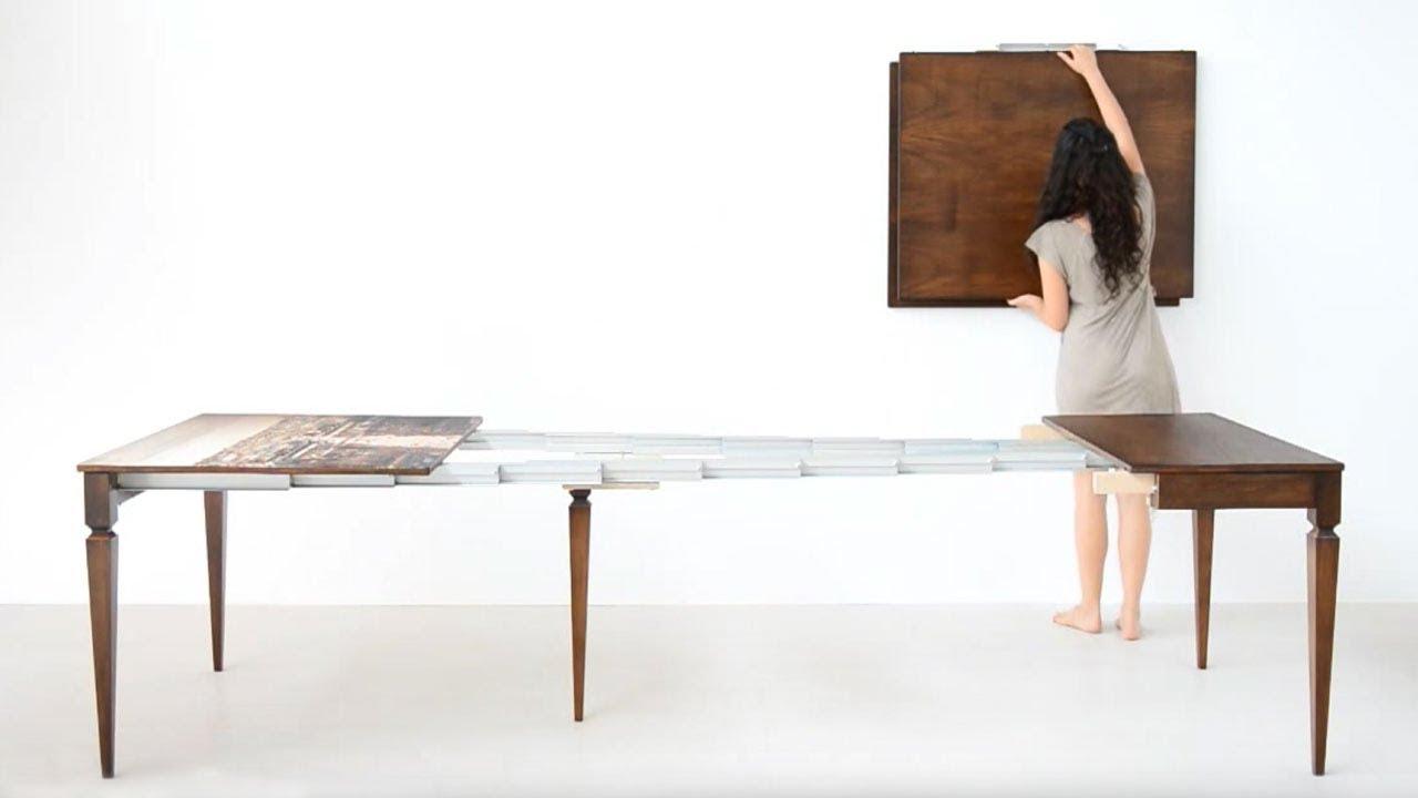 Tavolo consolle allungabile classica lg lesmo 2012 youtube - Tavolo consolle allungabile stile classico ...