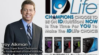 IDLife CEO, Logan Stout Interview with Troy Aikman