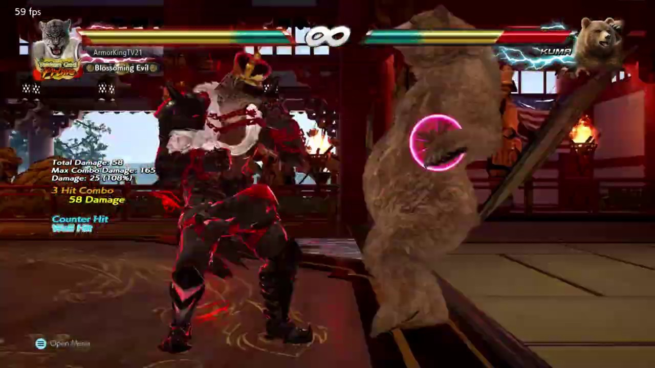 Armor King - Geese Howard Death combo - Combo challenge