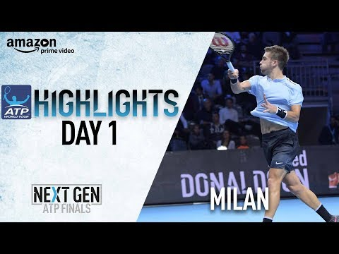 Highlights: Historic Day In Milan Puts Exciting NextGen ATP On Full Display