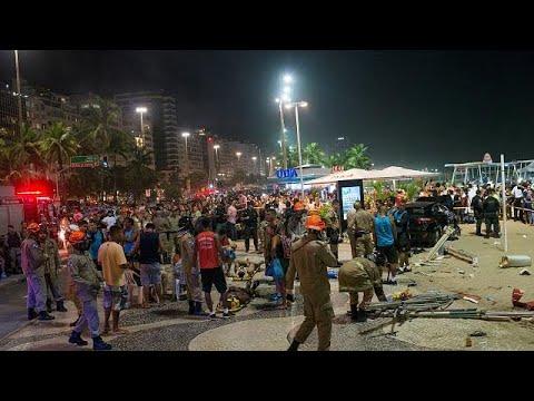Polícia investiga pista da epilepsia no atropelamento em Copacabana