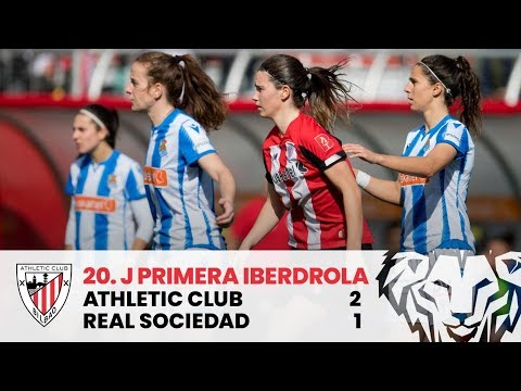 ⚽ Resumen I J20 Primera Iberdrola I Athletic Club 2-1 Real Sociedad I Laburpena - 동영상