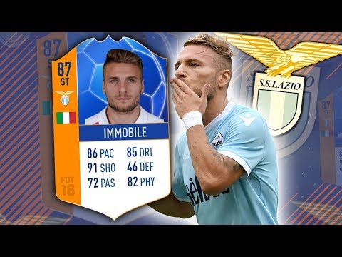 MOTM IMMOBILE 87! ONE OF THE BEST CARDS IN THE GAME + UPGRADE SOON! FIFA 18 ULTIMATE TEAM