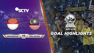 Indonesia (3) vs Malaysia (4) - Goal Highlights | AFF U 18 2019