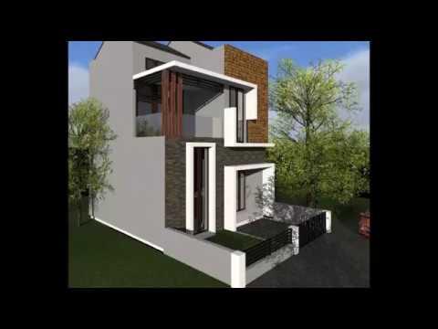 a r d e v i s | desain rumah minimalist sederhana 2 lantai