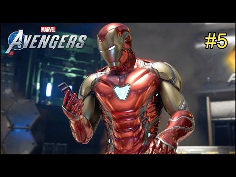 Iron Man Avengers End Game SUIT – Marvel's Avengers Gameplay #5