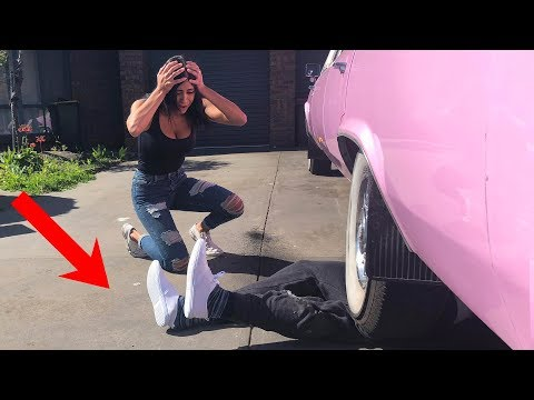 CRUSHED BY LIMOUSINE PRANK!!