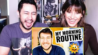 YOUTUBER MORNING ROUTINE | I'm A Freakin' Lifestyle YouTuber Now!| RYAN GEORGE | Reaction
