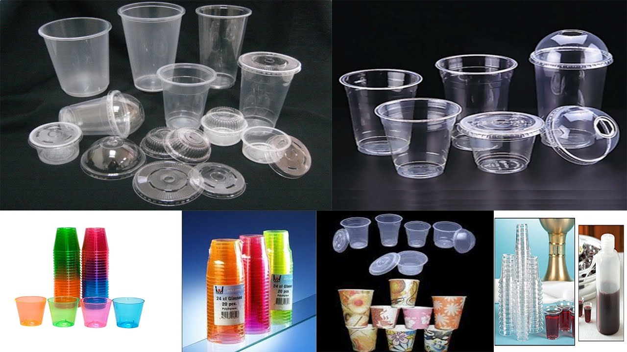 Fully Automatic Disposable Plastic Glass Manufacturing
