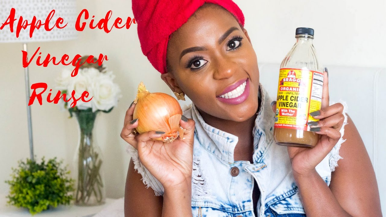 Apple Cider Vinegar Rinse Onion Juice Mask For Natural 4c Hair Growth Blogger