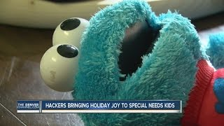 Hackers bringing holiday joy to special needs kids