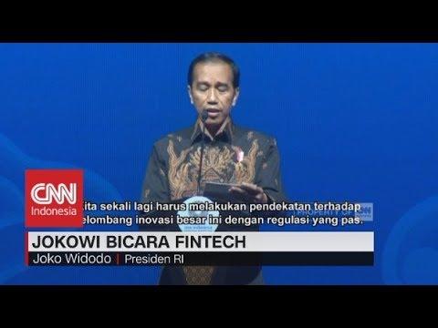 Jokowi Bicara Fintech & Investasi di IMF-World Bank 2018