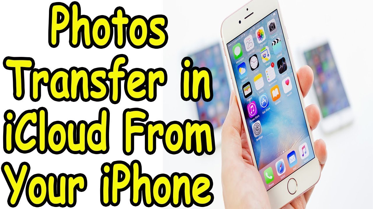 How to Put Photos in iCloud From Your iPhone - YouTube