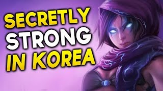 KOREAN SECRETLY STRONG/Underrated Champions - MALZAHAR SUPPORT? (League of Legends)