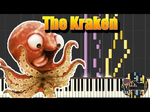 🎵 The Kraken  Hans Zimmer Piano Tutorial Synthesia HD
