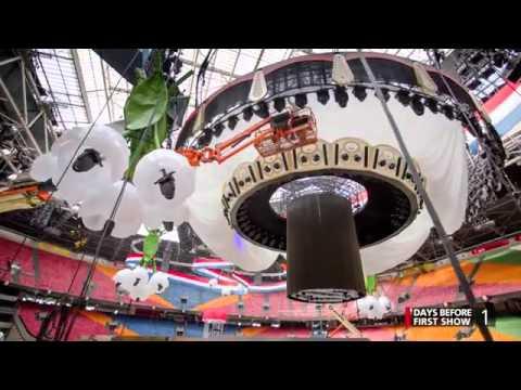Amsterdam stadium transforms to concert place