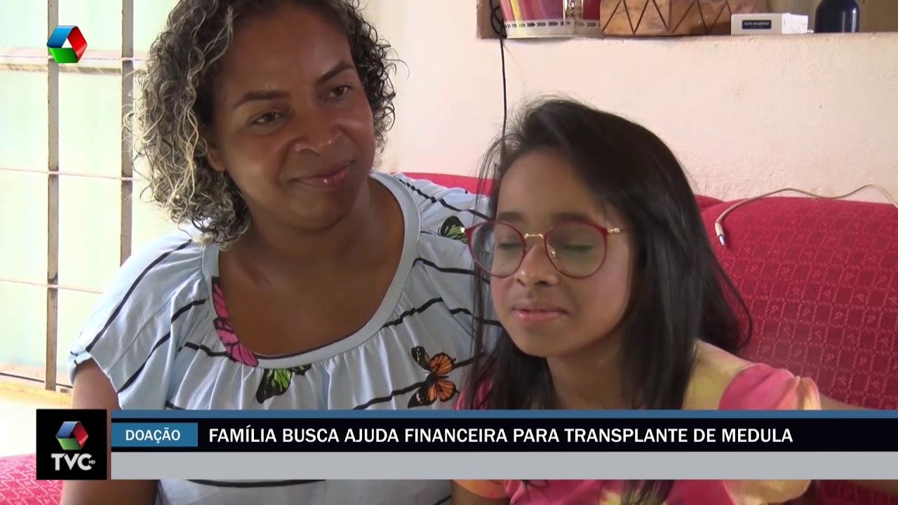 Família busca ajuda financeira para transplante de medula