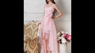 Вечернее платье Сенека Комплект розовый TM PAULINE