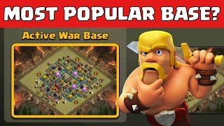Clash Of Clans Most Popular Base Right Now And How To Attack It | Clan War Strategy
