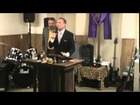 Holy Ghost revival in Kemp Texas at Kingdom First Church night 6