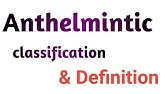 Anthelmintic definition medical, Anthelmintic definition