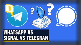 Switching over to Telegram or Signal? Which is the best Alternative to WhatsApp? | The Quint