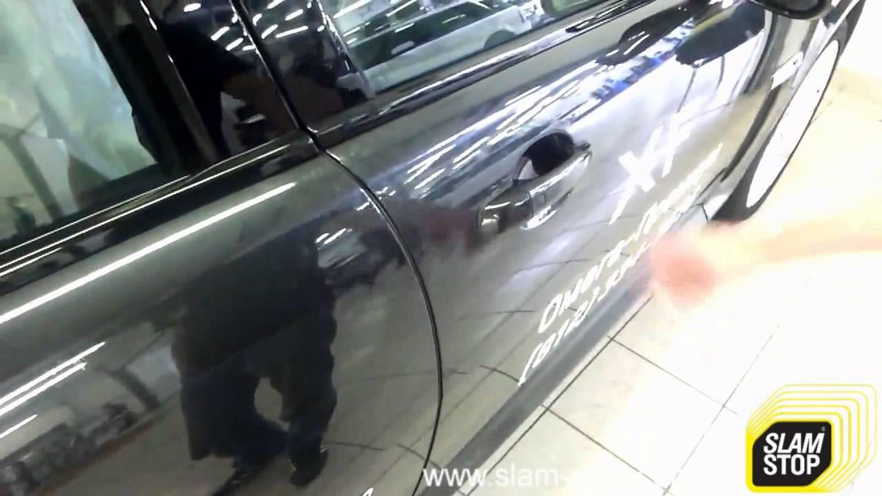 Доводчик двери на Jaguar FX – Дотяжка автомобильных дверей SlamStop