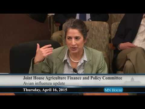 Joint hearing of the House Agriculture Finance and House Agriculture Policy Committee  4/16/15