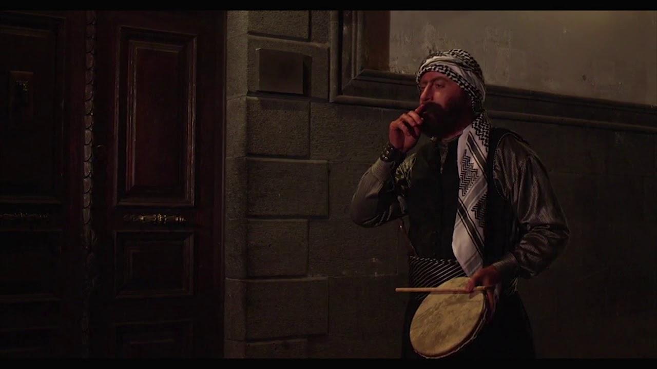 كيف يوقظ الواوي المسحراتي الحارة في منتصف الليل ، باب الحارة 6 ، مصطفى الخاني ، مسحراتي