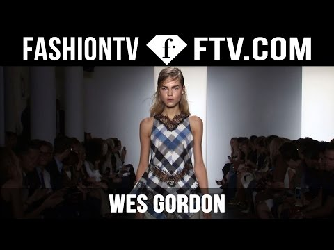 Wes Gordon Spring/Summer 2016 | New York Fashion Week NYFW | FashionTV